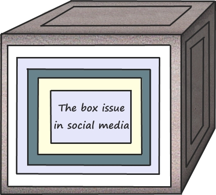 The box issue in social media - photo by FNM
