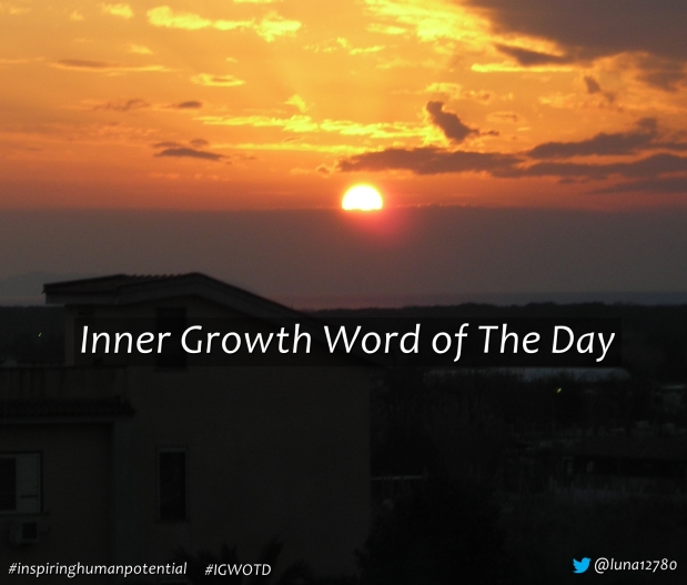 Inner Growth Word of The Day 87 – Let go of