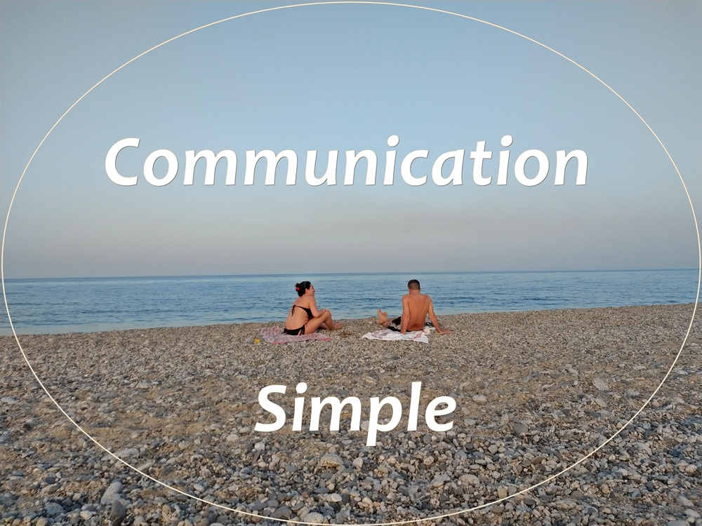 communication between people is simple inspiring human potential the keys to inner growth and following your heart by Maria Florio