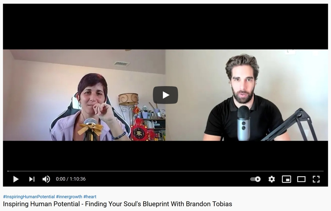 Inspiring Human Potential Maria Florio and Brandon Tobias Finding Your Soul's Blueprint