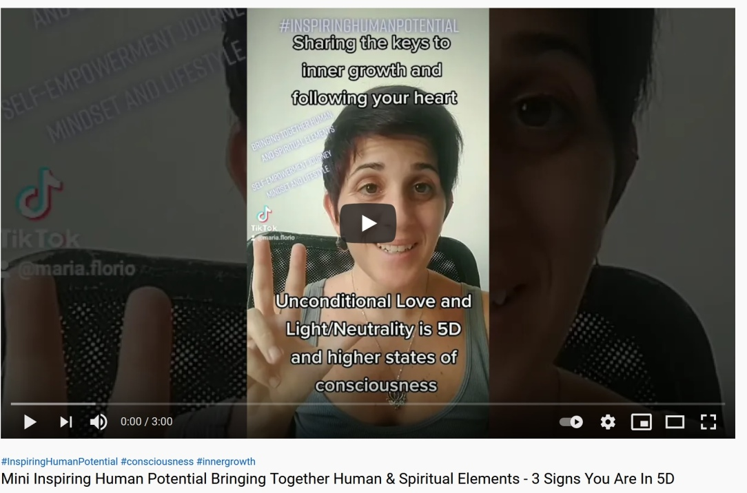 Inspiring Human Potential Bringing Together Human and Spiritual Elements - 3 Signs You Are In 5D and Higher States Of Consciousness